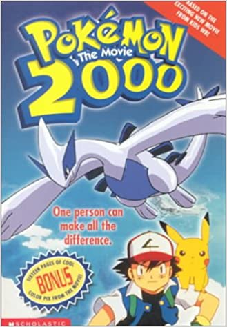 Pokemon The Movie 2000 The Power Of One 2nd Movie Novelization