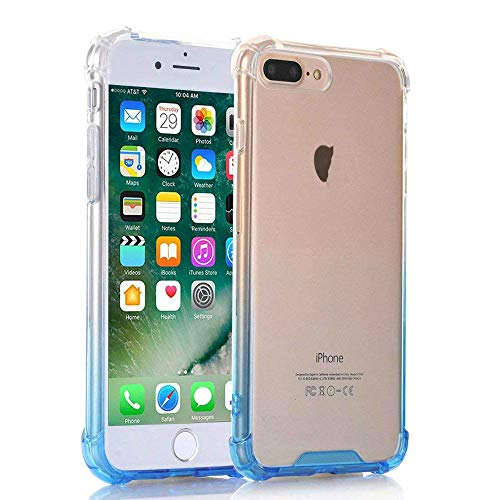 2e9bf78b50e Egotude Hard PC Back Soft Silicone Bumper Cover Case for iPhone 7 Plus   8  Plus 5.5