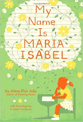 cover image, My Name Is María Isabel