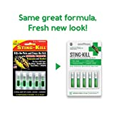 Sting-Kill First Aid Anesthetic Swabs, Instant Pain