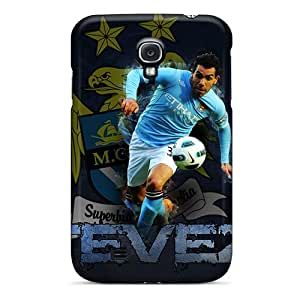 New Style S.N.H The Fc Of England Manchester City Premium Tpu Cover Case For Galaxy S4