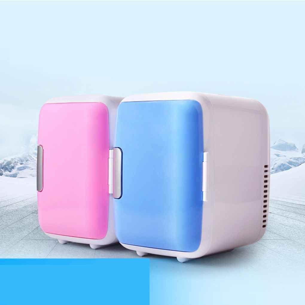 beIilan 4L Auto di Raffreddamento e Riscaldamento Mini Frigo Auto 2-in-1 Sistema termoelettrico Portatile con DC e adattatori USB