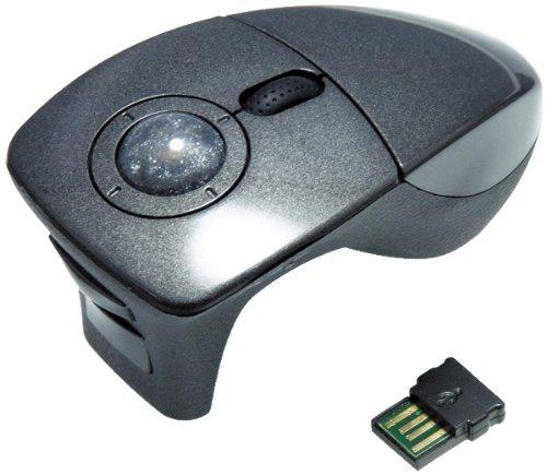 シグマAPO ごろ寝マウス ワイヤレス光学式トラックボールマウス トリガータイプ ガンメタリック SGMRF3GM