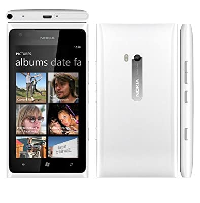 Nokia Lumia 900 In White 16gb Unlocked Gsm - (3g Hsdpa 850/900/1900/2100)