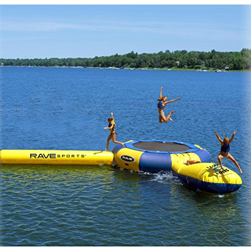 - Rave Aqua Jump Eclipse 200 Trampoline and Waterpark - 00202