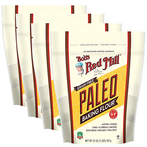 Bob's Red Mill Paleo Baking Flour, 32 Oz (4 Pack)