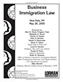 img - for Business Immigration Law book / textbook / text book