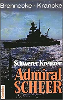 Book Schwerer Kreuzer Admiral Scheer.