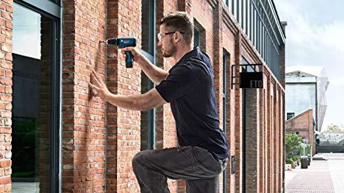 Bosch 06019G81K2 GSB-120 - Li Cordless Drill Driver, Double Battery (Blue) 3