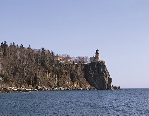 - Photograph | Split Rock Lighthouse, one of Minnesota's best known landmarks, is located in Two Harbors, Minnesota| Fine Art Photo Reporduction 14in x 11in