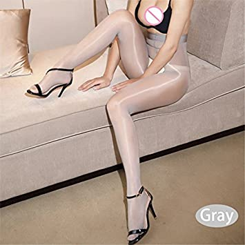 c24288f83 Image Unavailable. Zyalex - Sexy Erotic Lingerie Hot Open Crotch Sexy  Stockings Oil Shiny Pantyhose Tights For Women