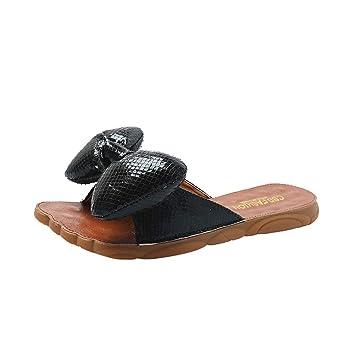 48e09d2b3603b Amazon.com: ❤ Sunbona Women Flats Slippers Ladies Summer Slippers ...