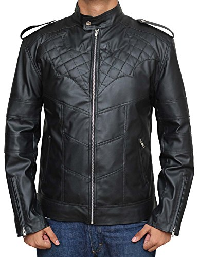 Decrum Bat Motorcycle Jacket for Men, L