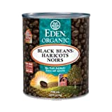 Eden Foods Organic Black Beans, 796 ml