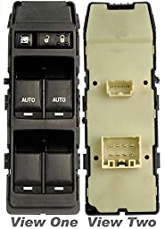 APDTY 012561 Master Power Window Switch Front Left-Driver-Side For Select 06-12 Chrysler Dodge Jeep Models (IMPORTANT!! Must Have 2 Front Window Auto Buttons Replaces 4602736AA, 4602781AA, V7700002AA)