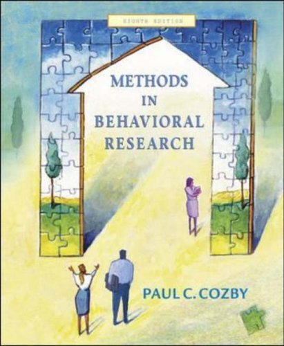 Methods in Behavioural Research: With PowerWeb by Paul C. Cozby (2003-09-01) pdf epub