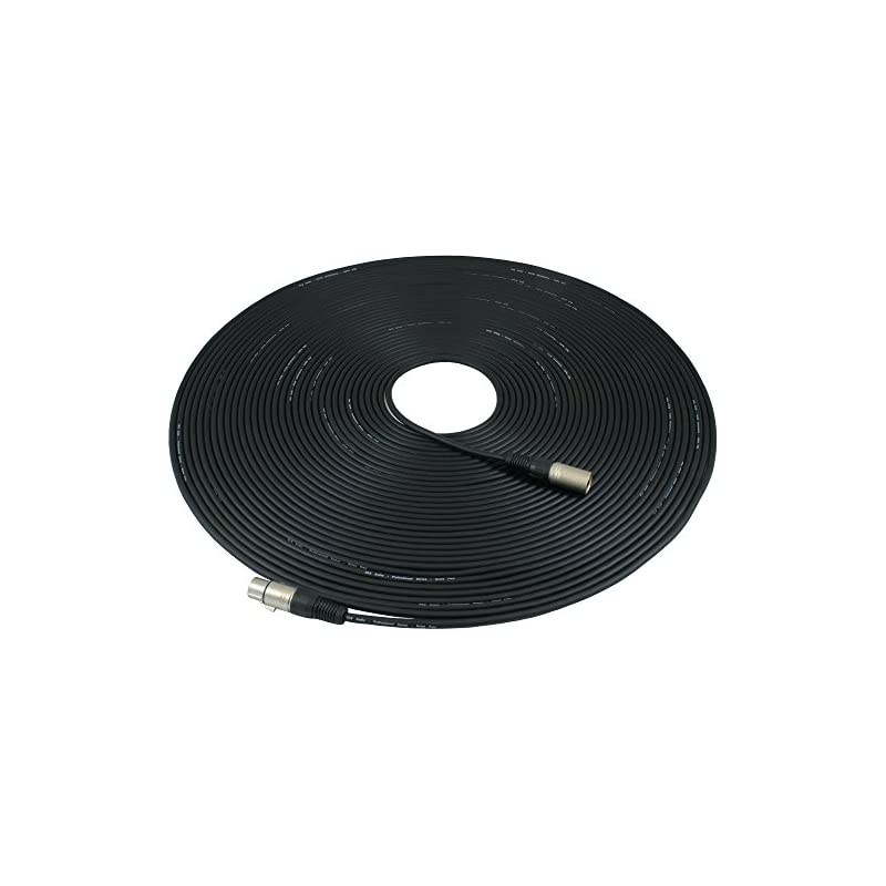 GLS Audio 100ft Mic Cable Patch Cords -