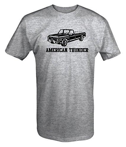 Chevy Thunder - American Thunder Classic Chevy C-Series Truck C10 C20T shirt - Large