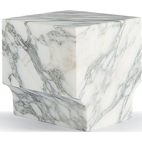 ATIPICO Classico Coll. Book End, Arabescato Marble, 110 x 110 x 110 by Atipico