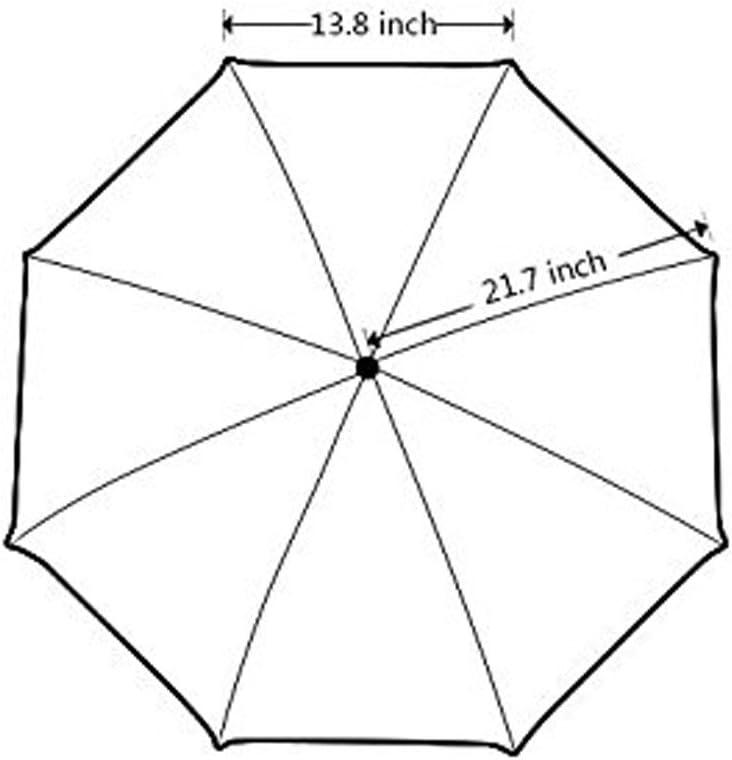 ZLFのLOVE Customized Hot Pink Rose Foldable Umbrella