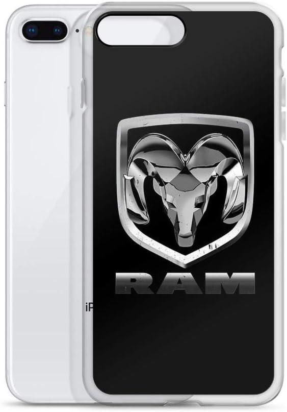 joyganzan Dodge Ram Case Cover Compatible for iPhone (7 Plus/8 Plus)