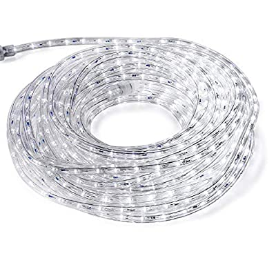 FOEERS 3M 10ft 110V Led Rope Light Outdoor Wedding Christmas Holiday Decoration Lights