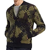 [Sponsored]Tommy Hilfiger Mens Camo Print Baseball Jacket