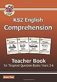 New KS2 English Targeted Comprehension: Teacher Book 1, Years 3-6 (CGP KS2 English)