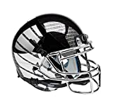 NCAA Oregon Ducks Chrome Wing and Carbon Fiber Authentic Helmet, One Size