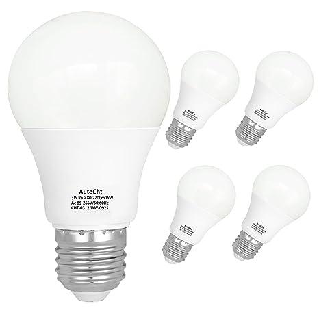 led light bulbs 25 watt incandescent equivalent high bright e26 base