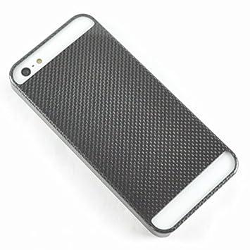 ae29849f4e Liquidd リアルカーボン iPhoneSE ブラック(黒) 本物のカーボンファイバー製iPhone SE用