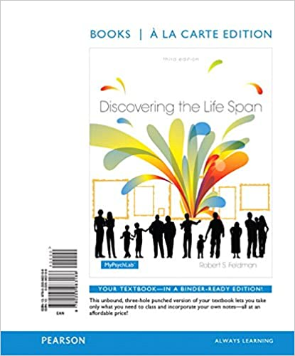 Amazon discovering the life span books a la carte edition 3rd discovering the life span books a la carte edition 3rd edition 3rd edition fandeluxe Image collections