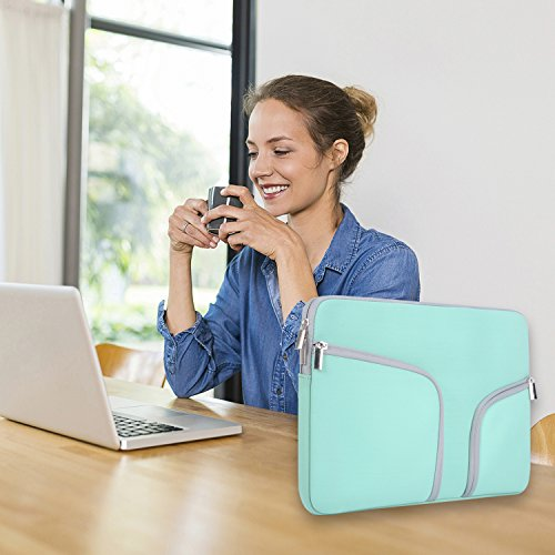Laptop Sleeve inch, Egiant Case Air 11|Mac 12 11.6|Stream 11|Surface 5 6,Computer Notebook Cases-Turquoise