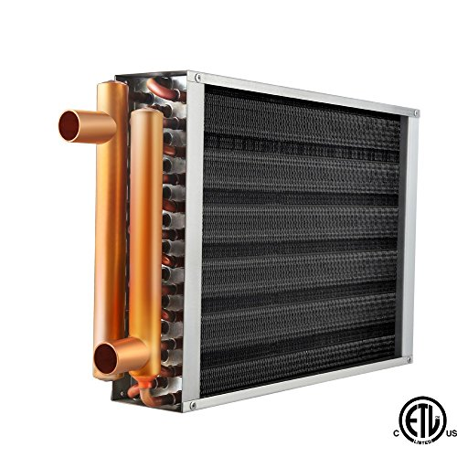 Heater Copper Fin (Water to Air Heat Exchanger 12x15 1