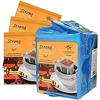 Catamona Dark strong espresso coffee , 10 Sachets