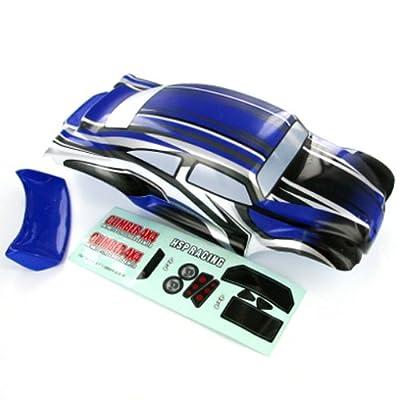Redcat Racing Baja Body, 1/10 Scale, Blue/Black