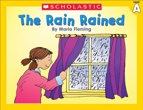 Little Leveled Readers: The Rain Rained (Level A) by [Fleming, Maria]