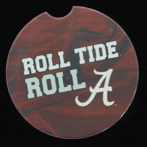 (University of Alabama Fan Car Coaster by CounterArt