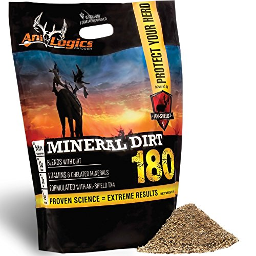 Ani Logics Outdoors 180 Mineral Dirt, 10 lb by Ani-Logics Outdoors