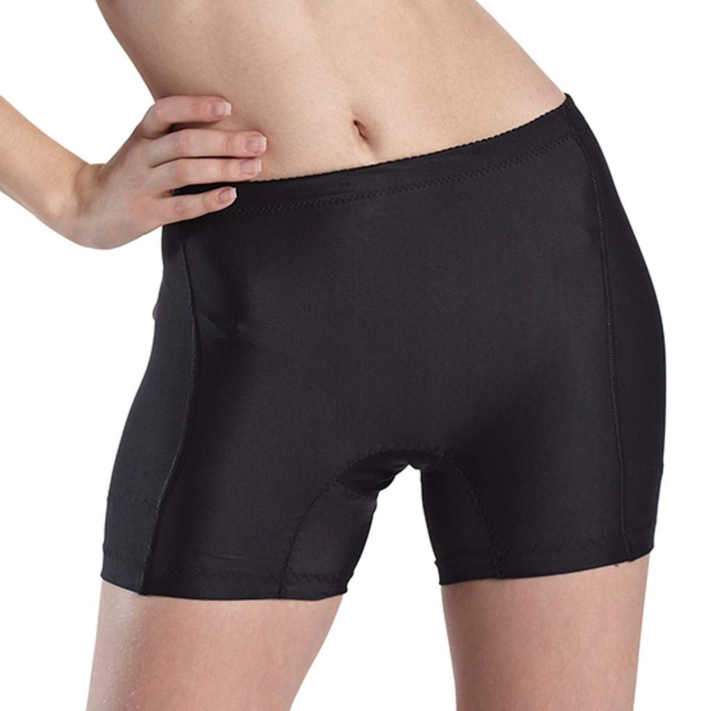 Spbamboo Womens Plus Size Seamless Butt Lifter Shorts Padded Enhancer Panties