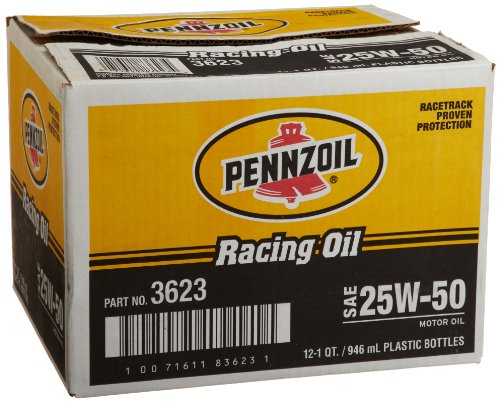Pennzoil 3623 12PK Performance 25W 50 Racing