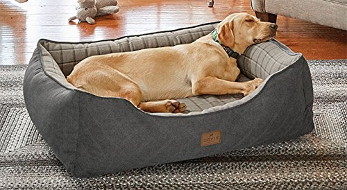 Orvis Two-in-one Dog Bed Cover / Medium, Charcoal, by Orvis