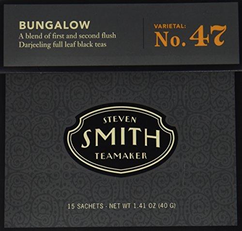 Smith Teamaker Black Tea - Bungalow47; 15 Bags (Ceylon Kandy Black Tea)