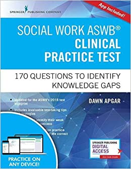 Social Work ASWB Clinical Practice Test: 170 Questions to Identify