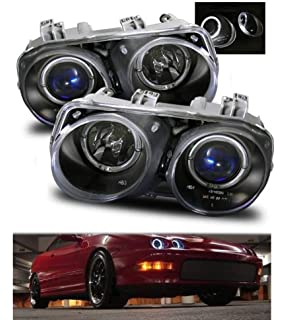 Amazoncom Acura Integra Twin Angel Eyes Halo Projector - Acura integra headlights