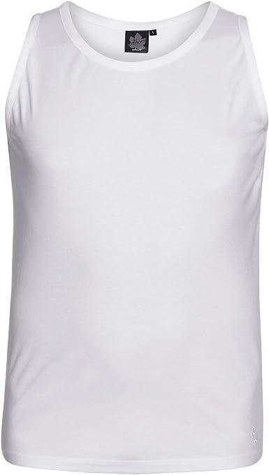 Musculosa Blanca de Ahorn en Tallas XXL