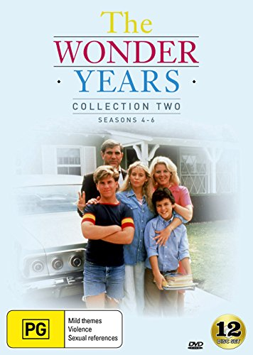The Wonder Years Collection 2 | Season 4, 5 & 6 | Fred Savage | NON-USA Format | PAL Region 4 Import - Australia (Wonder Years Dvd Season 4)