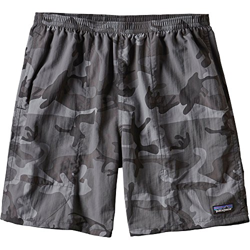 Patagonia Baggies Lightweight Shorts - Mens Forest Camo/Forge Grey ()