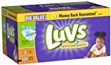Health & Personal Care : Luvs Ultra Leakguards Diapers (16-28 lb) - 104 CT by Luvs