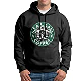 SuperFF Men's Star Labs Coffee The Flash Hooded Sweatshirt